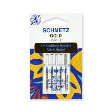 Иглы SCHMETZ для вышивки 5-№90